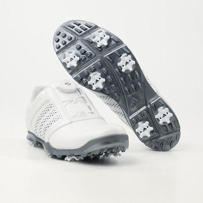 Adidas 2018 adipure BOA Damen Golfschuhe, Weiß / Silbergrau - UVP 190 € -  SALE | eBay