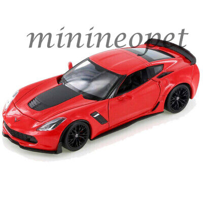 1:24 Welly />/> New /</< Chevrolet Corvette z06 2017 rojo