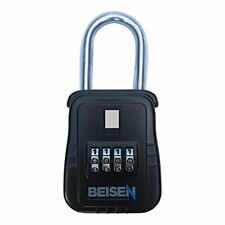 Beisen Key Safe Realtor Lock Box With Set Your Own Combination Lock