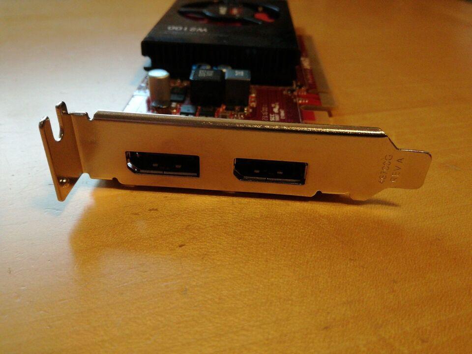 Firepro W2100 AMD, 2 GB RAM, Perfekt