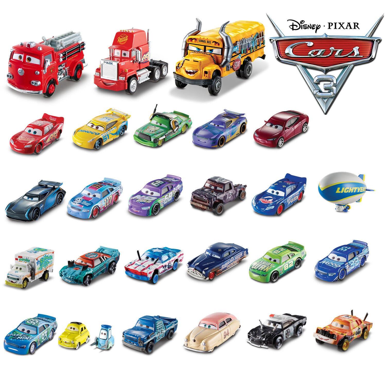 Cars 3 Mcqueen School Bus Die Cast Singels Autos / Auswahl an Cars Loose 1:55