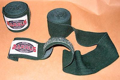 BENDAGGIO MANI GREEN BOXE FULL CONTACT KICK BOXING  SHOOT SAVATE MMA LOTTA WAKO
