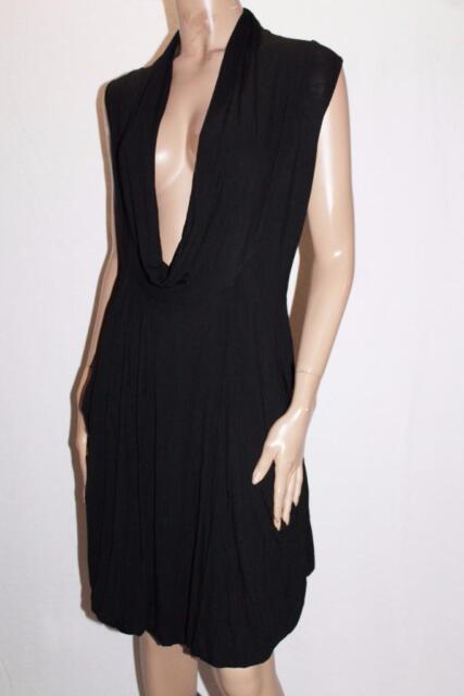 belle b wear Brand Black Pockets Casing Dress Size S/M BNWT #SZ56