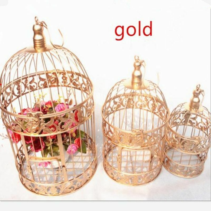 Decorative Bird Cage Window Ornaments Photography Props Fashion Birds Supply New