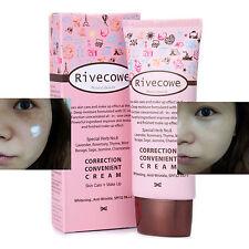 Korean Cosmetic Rivecowe CC Cream 40ml Moisture Makeup Whitening Anti-Wrinkle