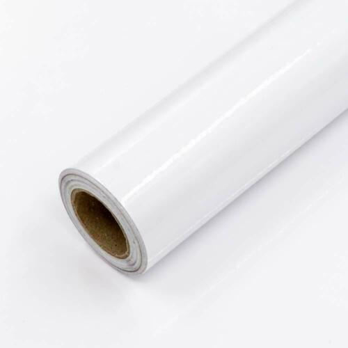 White Glossy Contact Paper Peel and Stick Wallpaper Decor Self Adhesive Rooms