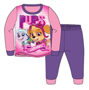 Officiel Paw Patrol rose violet à manches longues Pyjamas Pjs 18m-5yr