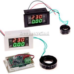 AC-Digital-Ammeter-Voltmeter-LCD-Panel-Amp-Volt-Meter-100A-300V-110V-220V