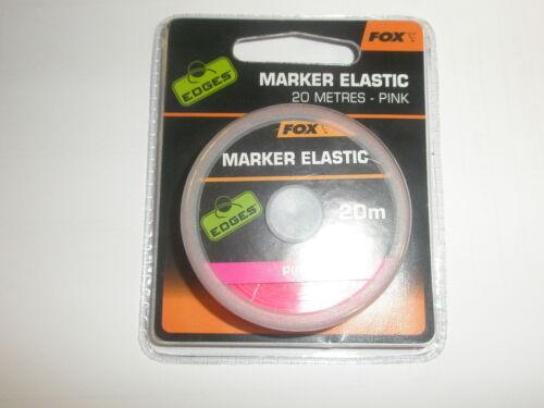 Fox Edges Markier Elastisch Pink 20m Karpfenangeln Ausrüstung