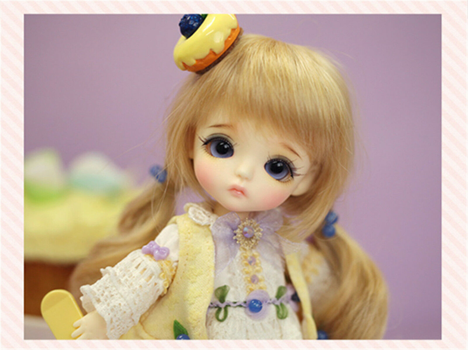 1 8 muñeca de BJD Lati Amarillo Gratis Cara Maquillaje + Ojos-Lati Amarillo