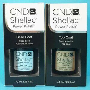 CND-Shellac-Base-Y-Capa-Superior-UV-Gel-Nail-Polish-7-3ml-Nuevo