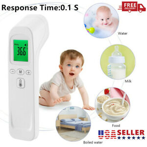 Non-Contact Forehead Ear Digital Infrared Thermometer Baby ...