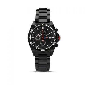 Original-BMW-M-Wristwatch-Chronograph-Men-039-s-2018-2020