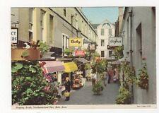 Shopping Arcade Northumberland Place Bath 1987 Postcard 426a