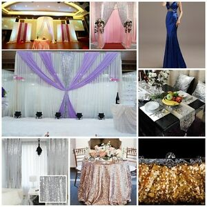Sequin-Fabric-Novelty-Sparkly-Shiny-Bling-Material-Round-Table-Covers-Cloth