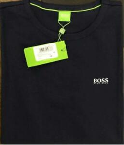 55dfb6ac Hugo Boss 0 Neck Color Short Sleeve 100% Cotton T/Shirt Green Label ...
