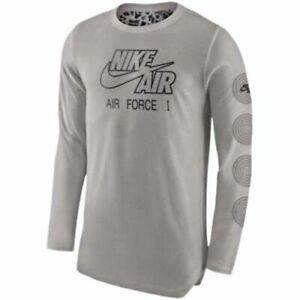 Details about Nike Air Force 1 Long Sleeve ALT Hem Camo T-Shirt Men's Small Large XL BNWT