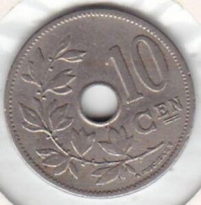 10 Centimes Léopold Ii 1905 Fl Qualité+++ 100% D'Origine