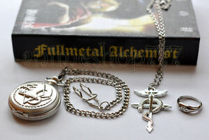 Fullmetal-Alchemist-Pocket-Watch-Necklace-Ring-Cosplay-2-Styles-Free-Shipping