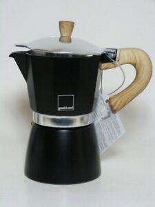 NEw* Gnali & Zani stove top Espresso makers -Black