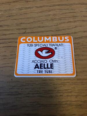 Original 1970s 80s NOS Columbus SL Seat Tube Decal