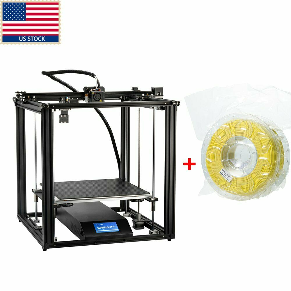 US Creality Ender 5 Plus 3D Printer BL-Touch Auto Level 350X350X400mm+Yellow