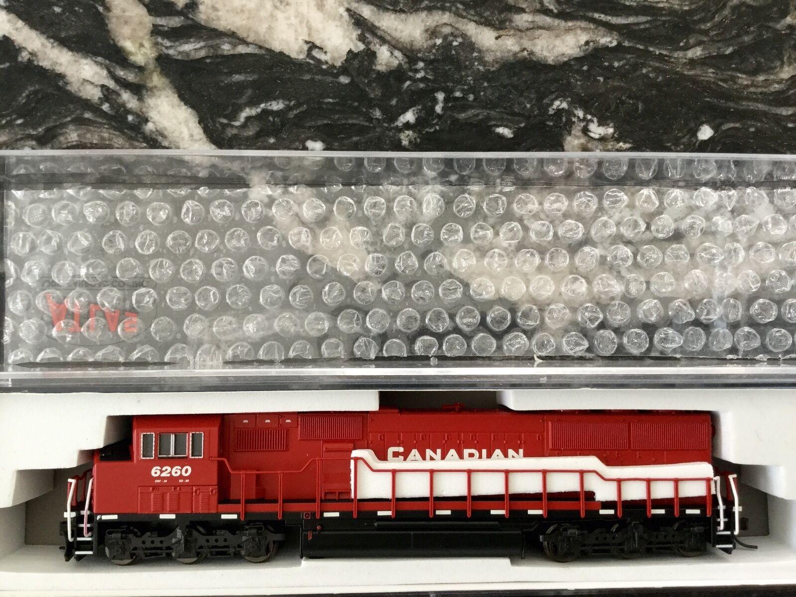 Atlas 1 160 N Scale Canadian Pacific SD-60 Locomotora Dcc Listo F S