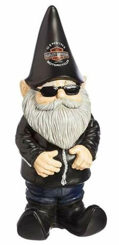 Rick`s Harley-Davidson Keramik Garden Gnome Gartenzwerg     *NA544902*
