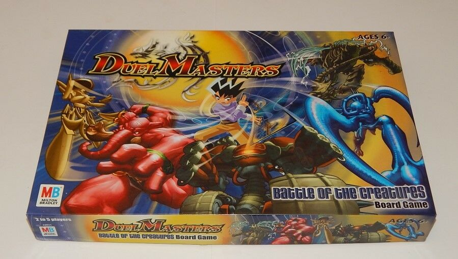 Duel Master's Battle of the Creatures Board Game R14591