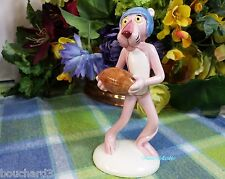 Pink Panther ceramic Football Figurine Pink Panther with Football