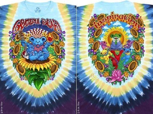 GRATEFUL DEAD GURU BEAR PSYCHEDELIC SPACE ROCK MUSIC T TEE SHIRT S M L XL 2XL