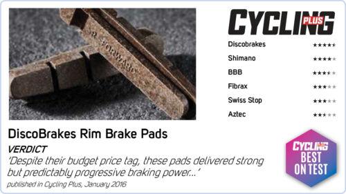 High Power 4Pairs//8Pads 72mm V Brake Pads Shimano SRAM Avid Tektro Diacompe