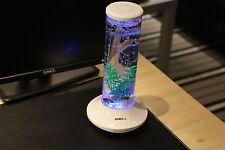 Christmas GifPortable fish tank&bluetooth usb TF player Aquarium Multi LED color