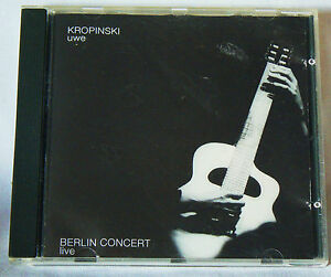 Live-in-Berlin-by-Uwe-Kropinski-CD-1995-ITM-German-acoustic-jazz-guitarist