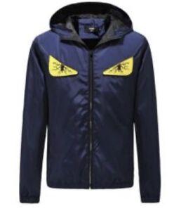 60c5a5c46 Details about Brand New Mens Fendi Jacket Navy Blue XXL