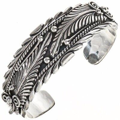 Bold Silver Petroglyph Bracelet