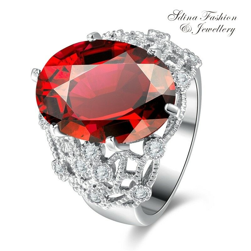 Hollow Multi Layer Cubic Zirconia Star Rings Women Cocktail Fashion Jewelry