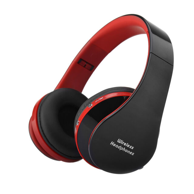 Wireless Bluetooth Stereo Headset Earphone Headphone Foldable for iPhone Samsung