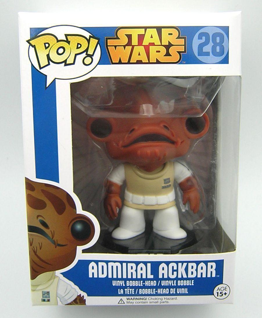 estrella guerras Pop Vinyl 28 Admiral Ackbar