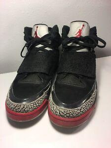 premium selection 5621b 43ff0 Image is loading Nike-Air-Jordan-Son-Of-Mars-Black-Red-