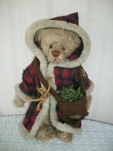 Ganz Cottage Collectibles Nicholas 12 Jointed Plush Bear With Tag Ebay