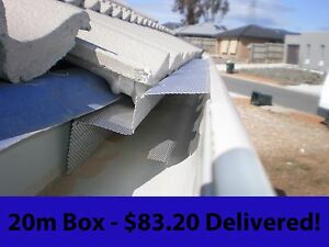 20m-D-FENCE-Gutter-Guard-DIY-Aluminium-Leaf-Mesh-Over-Stocked-Clearance-Sale