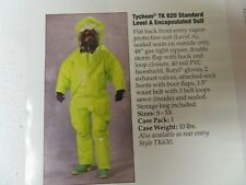 Ppe Biohazard Lakeland Dupont Tychem Tk620 And 80620 Level A Protective Suits