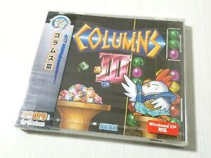 Sega PC Windows 98 XP COLUMNS III 3 New Japan 0314A25