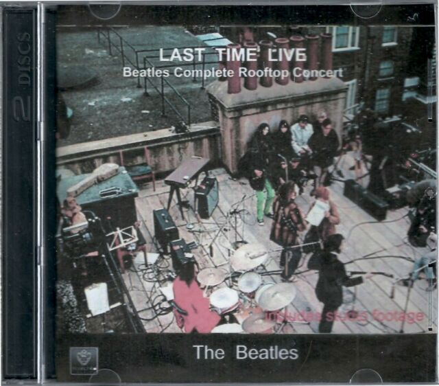 Beatles Complete Rooftop Concert Last Time Live DVD and CD combo