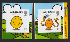 2016 Singles of 1st NVI 'Mr Happy' & 'Mr Tickle' SA from 'Mr Men' Comm Booklet