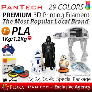3D Printing Filament Flexible PLA PanTech 1KG 1.75 mm Spool Reel for 3D Printer