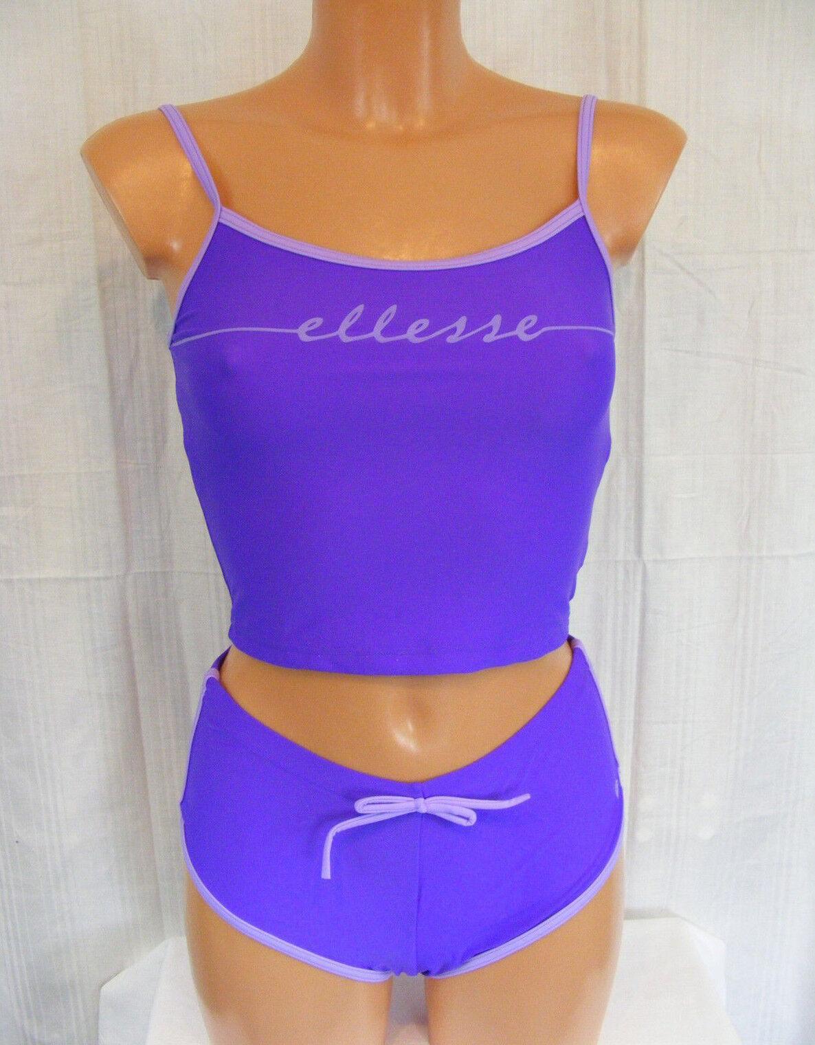 ELLESSE   36  lila flieder  Sexy Tankini mit Panty  mit Unterbrustgummi  NEU | Innovation  | Leicht zu reinigende Oberfläche  | Moderne Muster  | eine breite Palette von Produkten  | Angemessene Lieferung und pünktliche Lieferung  7e1777