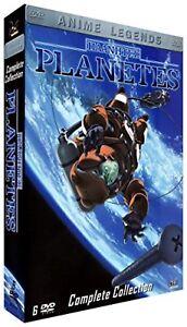 Planetes-DVD-Completo-Caja-26-todos-los-episodios-de-650-minutos-por-la-manana-Anime-PAL-region-2