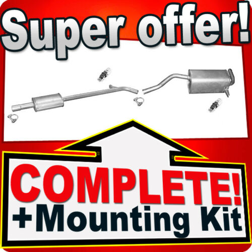 Renault Clio III 1.2 1.4 1.6 also Grand Modus 2005 Silencer Exhaust System P53